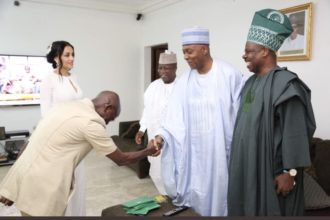 Bribery allegation: I'm ready to meet you in court, Saraki replies Oshiomhole
