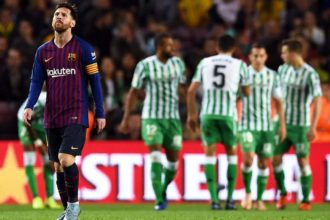 Real Betis defeat Barcelona 4-3