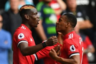 Pogba, Martial withdraw from France squad