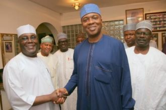 Atiku congratulates Saraki at 56 birthday