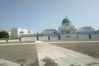 National Assembly workers shutdown complex, block entrance