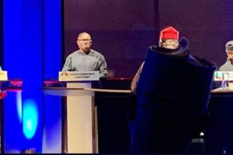 #2019Debate: Osinbajo, Obi attack each other over anti-graft war, economy, others