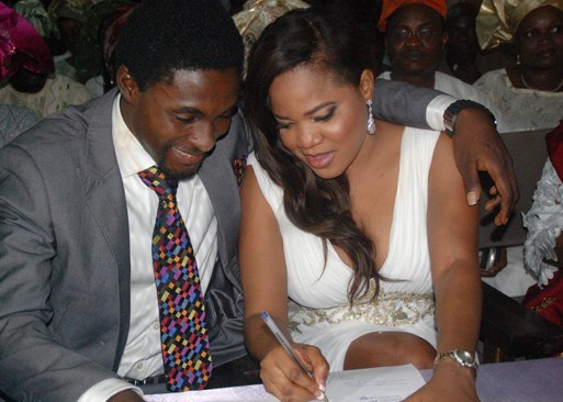 Three years after, Adeniyi Johnson laments over Toyin Abraham's refusal to sign divorce documents