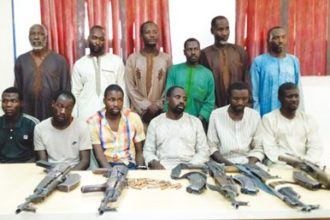Police arrest 12 suspected kidnappers of twin sisters in Zamfara