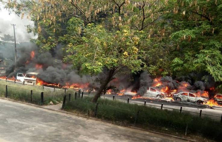 Ayade mourns as tanker explosion kills several people in Cross River