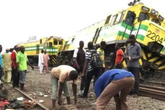 Several injured, others trapped as passenger train derails in Lagos