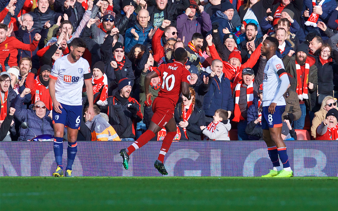 EPL : Liverpool beat Bournemouth 3-0