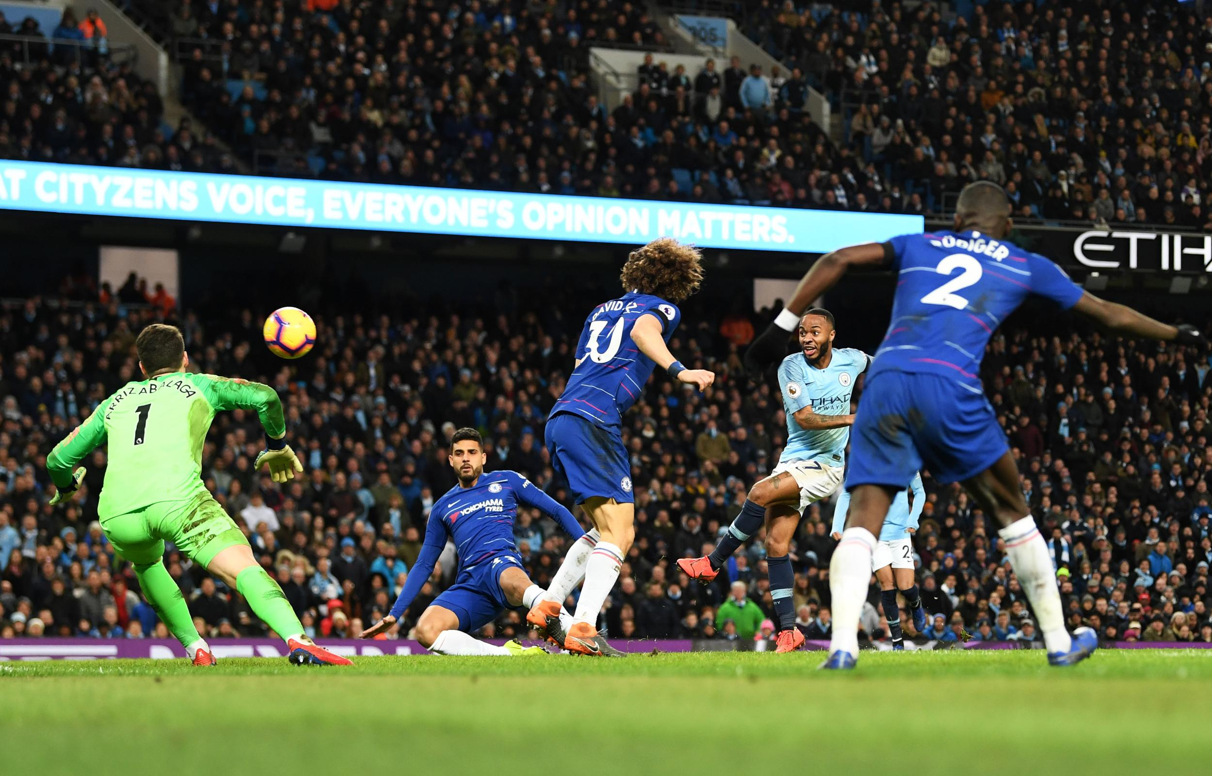 Manchester City beat Chelsea 6-0 as Aguero scores another hat-trick
