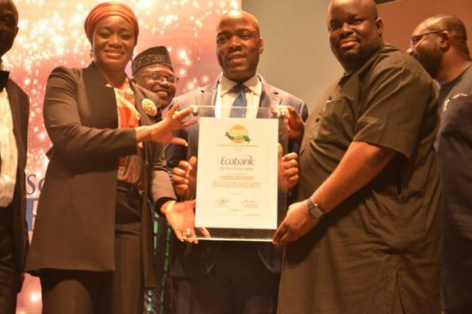 Ecobank wins CBN/NIBSS Award for Data Integrity