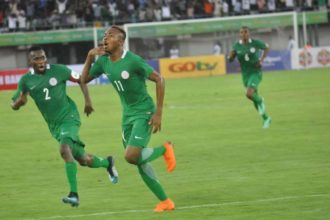 Awoniyi, Nwakali top Olympic Eagles' squad for Libya clash