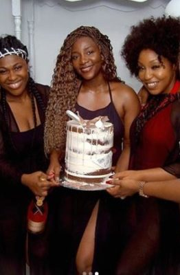 Photos: Omotola, Rita Dominic, Uche Jombo others reunite at Genevieve's 40th birthday
