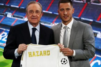BREAKING: Hazard emerges UEL player of the season