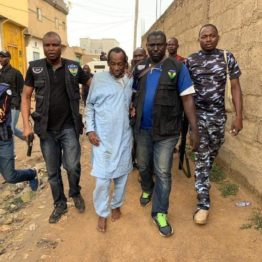 Police parade 13 suspected kidnappers of Buhari's town head