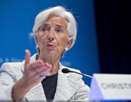 Christine Largarde formally bows out of IMF