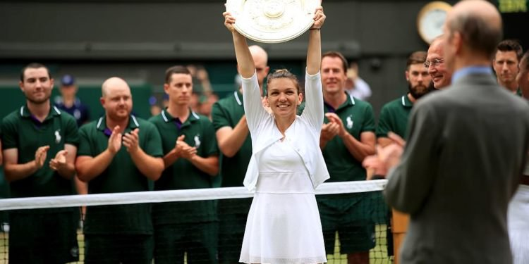 Ruthless Halep downs Serena to claim Wimbledon title