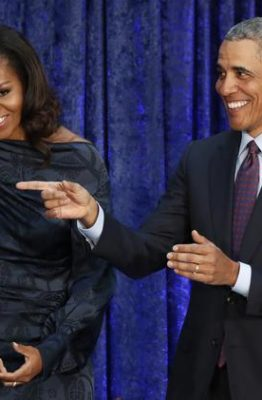 Barack, Michelle Obama excite Hollywood with debut on Netflix