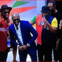 BBNaija update: 2Face Idibia celebrates birthday with housemates