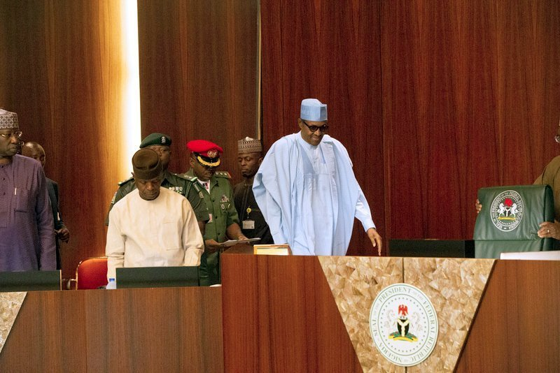 Just In: Buhari presides over maiden FEC meeting