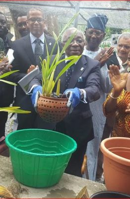 NCF inaugurates orchid garden to immortalise former DG, Obot