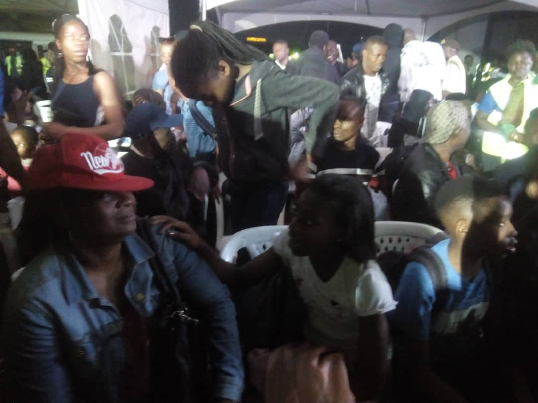 Photo: First batch of 187 Nigerians return safely from South Africa