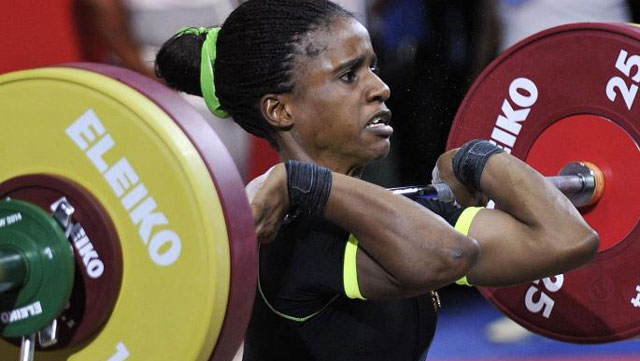 Nigerian weightlifter Amalaha faces eight-year ban