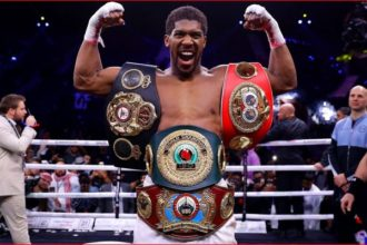 AJ to defend WBO title against Usyk