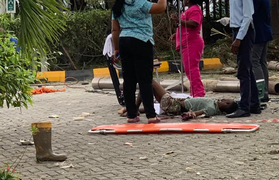 Gas explosion injures three in Lagos hotel