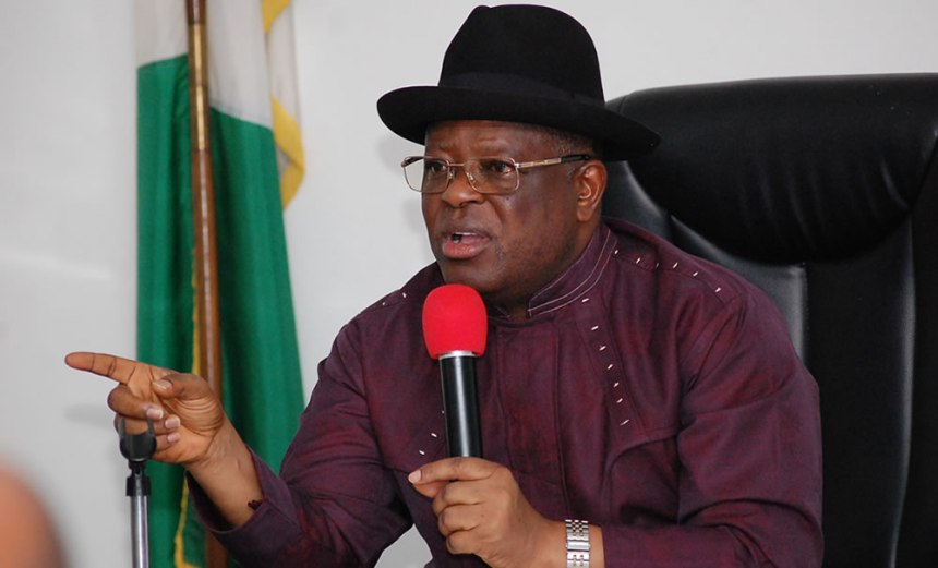 Christmas: Umahi orders payment of workers salaries by Dec. 23