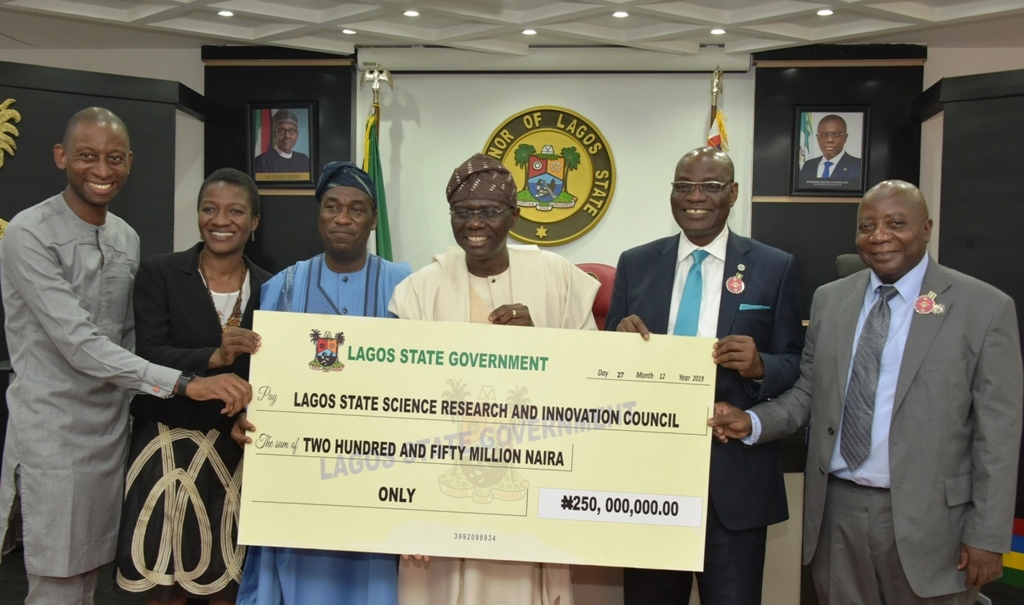 LASG presents N250m seed fund to boost technological innovation