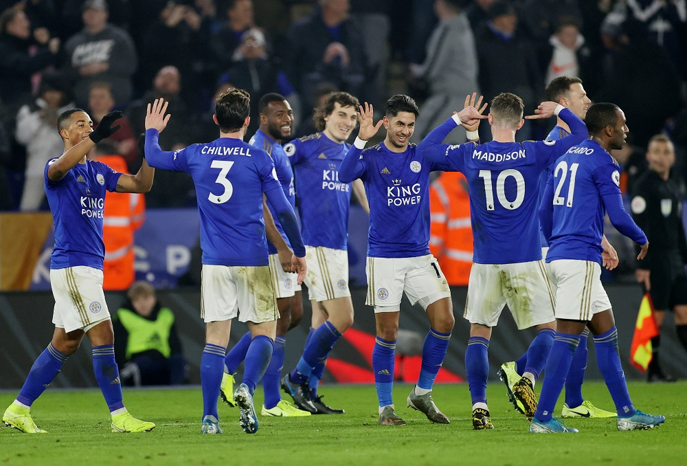 Leicester City beat West Ham 4-1 to retain third place