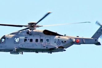 One dead, five missing as Canadian Navy helicopter crashes