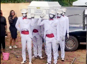 Video: Remains of Destiny Etiko's father arrives Enugu for burial