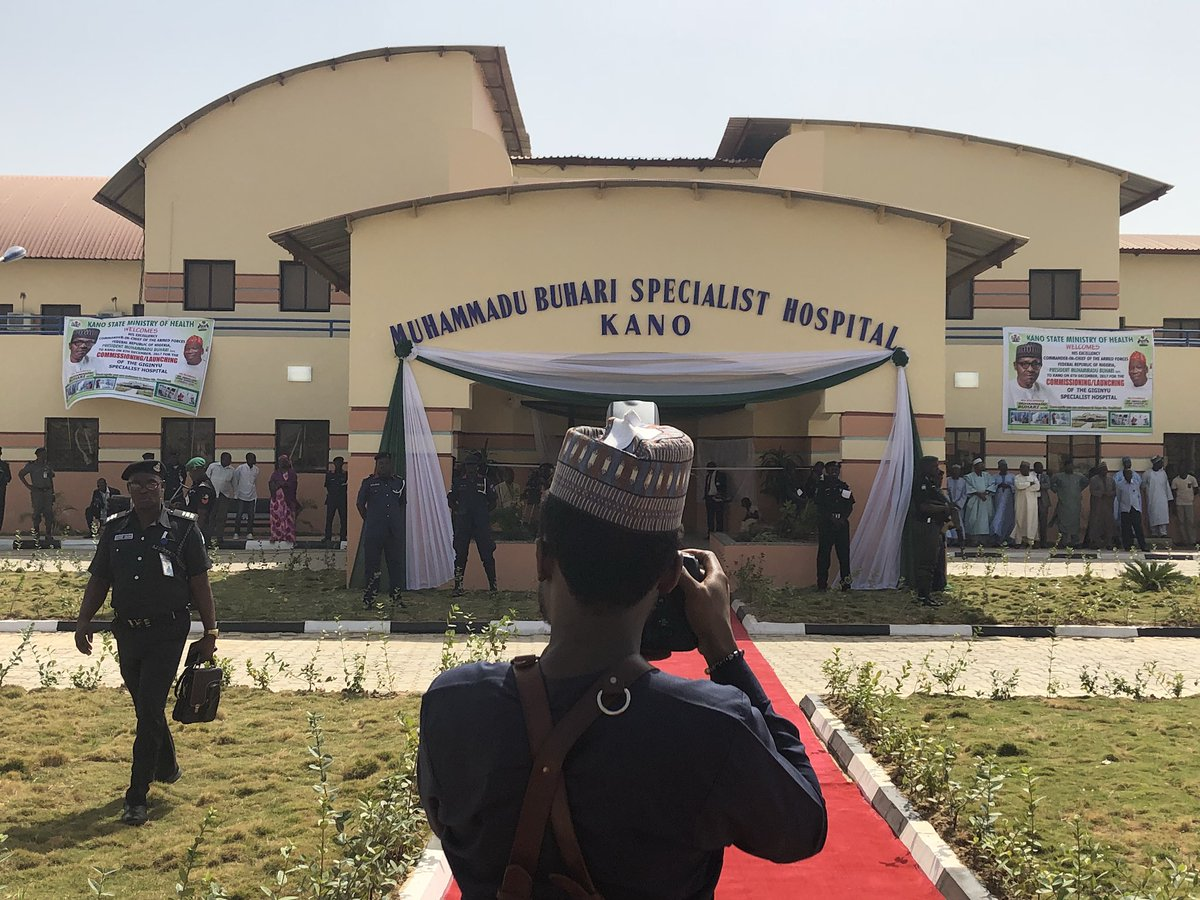 Buhari commissions hospital named after him in Kano
