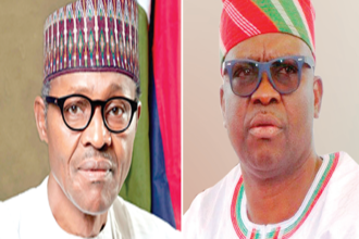 Buhari @ 75: Fayose congratulates PMB; says 'I'm not a fan of old men'