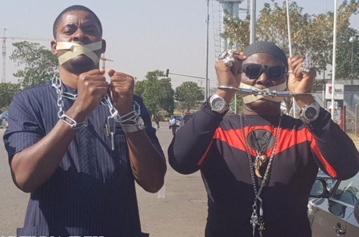 Charly Boy leads protest against Libyan slavery