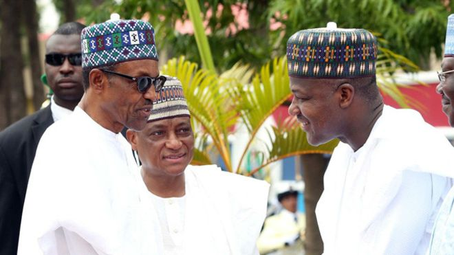 Buhari salutes Dogara as he clocks 50, says Nigeria's future secure in youths' hands