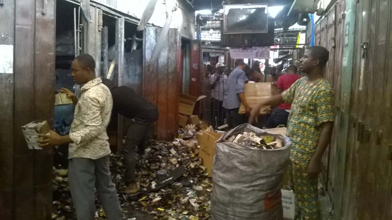 Over N100m goods destroyed in Onitsha market fire