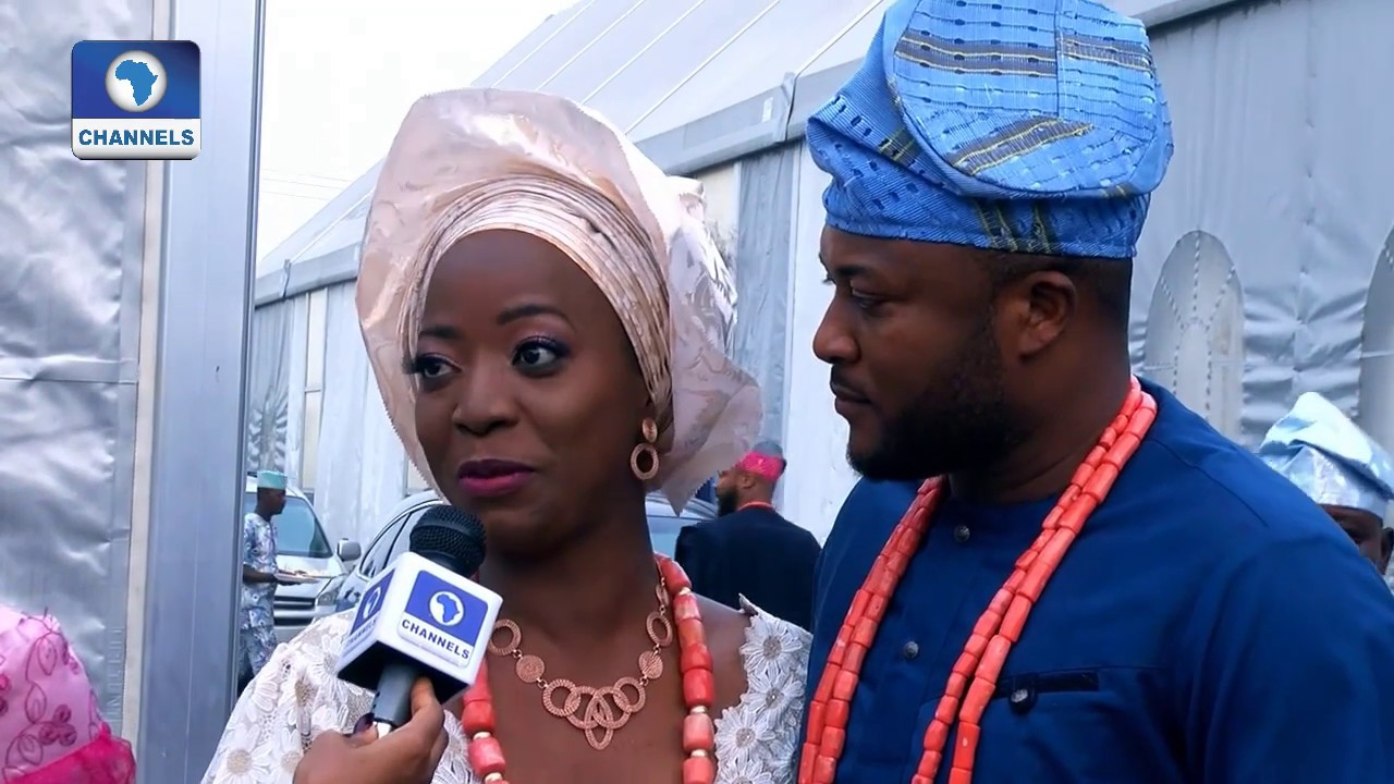 Maupe Ogun of Channels television ties the knot