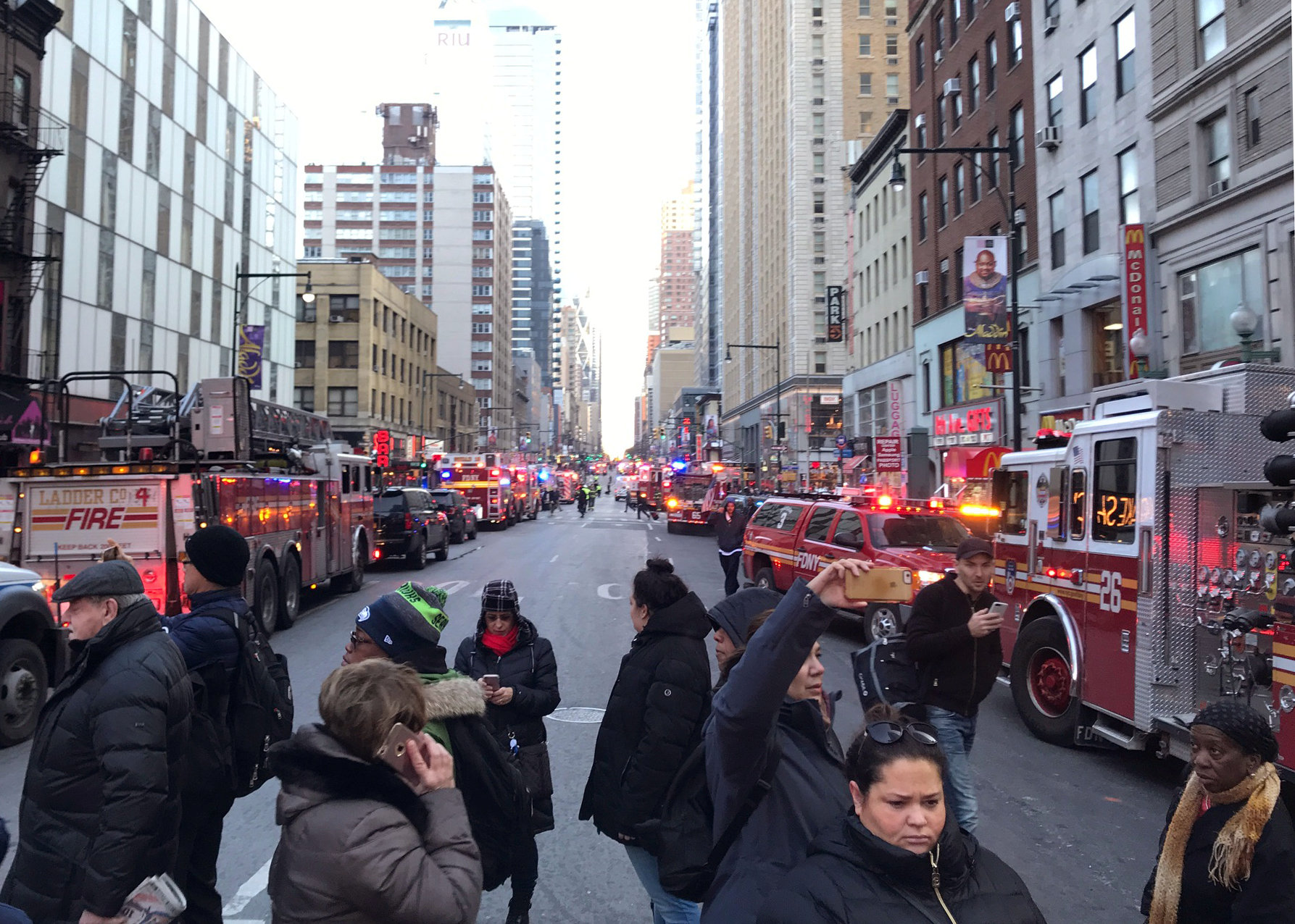 Police arrest one as bomb explodes at New York's Port Authority