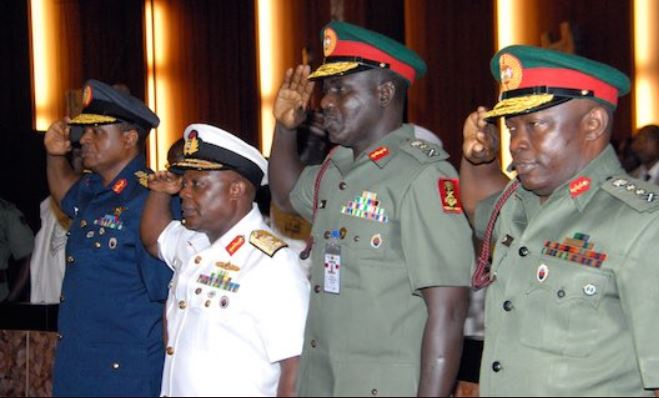 Photo of Senate to Buhari: Sack military service chiefs now