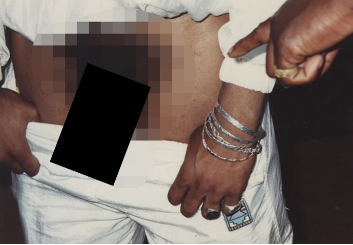 Photo of PHOTO- Tupac's  full-frontal photograph up for sale for $7,500