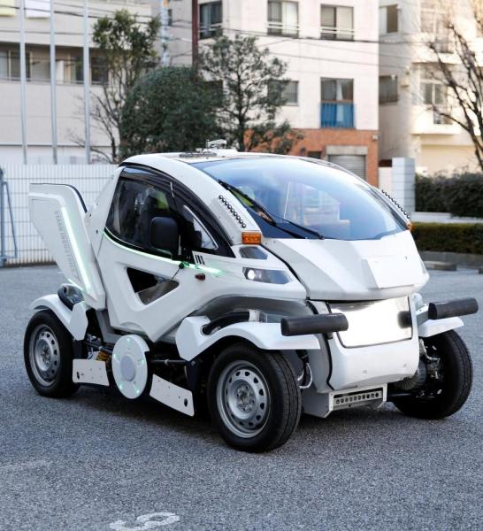Photo of Japan develops A Robotic car valued at #24.2m …can fold and park in tight spaces