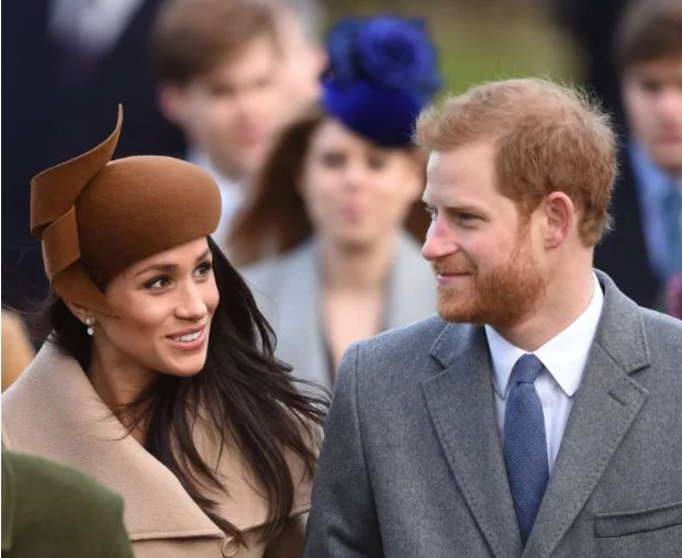 Photo of Photos: Prince Harry and Meghan Markle attend Christmas Day service with the Royal Family