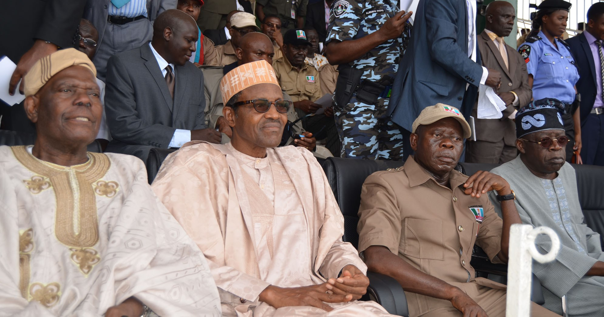 Photo of Buhari describes Akande as strong pillar of democracy