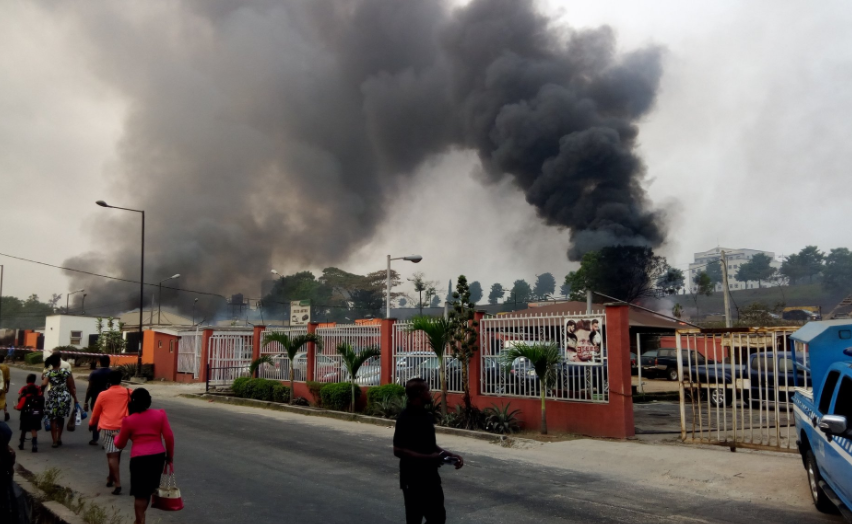 Photo of BREAKING: Two dead in Lagos gas plant fire accident