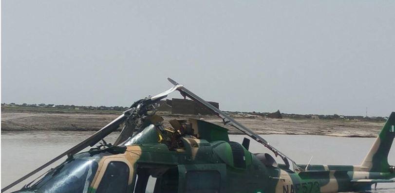 Boko Haram: NAF helicopter crashes in northeast