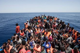183 illegal migrants rescued on Mediterranean sea