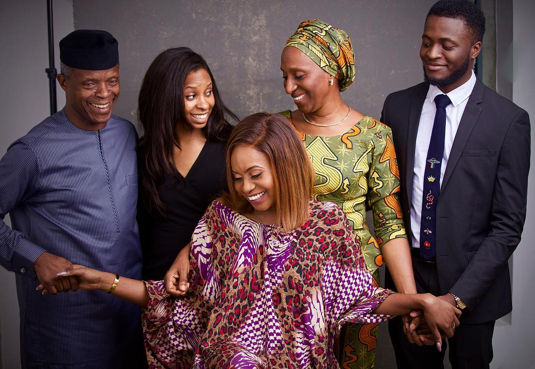 Osinbajo, family jet out to UAE on vacation