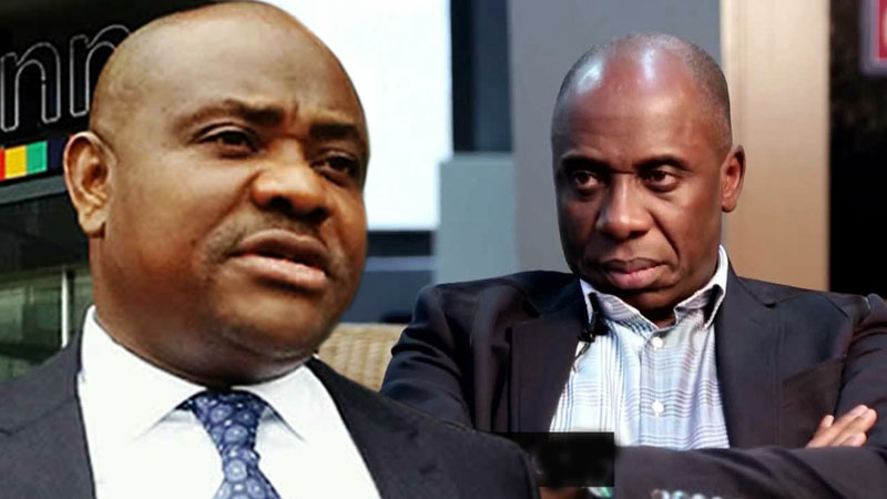 APC not responsible for your failures, Amaechi tells Wike
