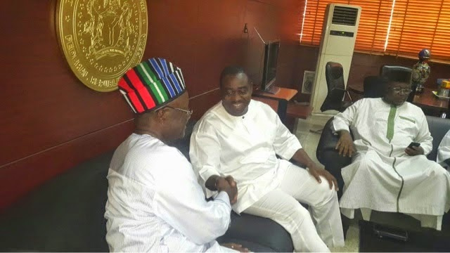 Why I reconcile with Suswam, David Mark - Ortom